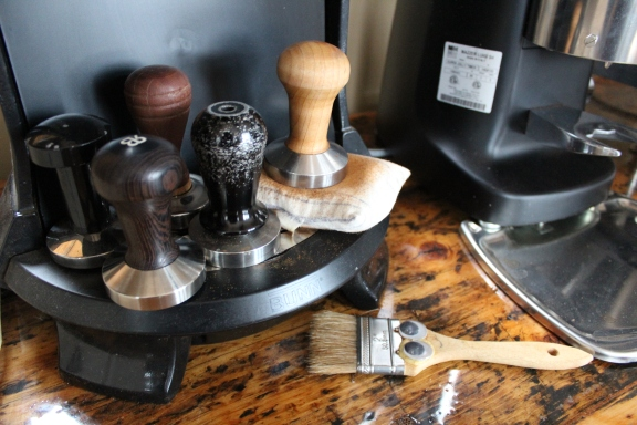 Espresso tampers. Photo by Emmy Yates